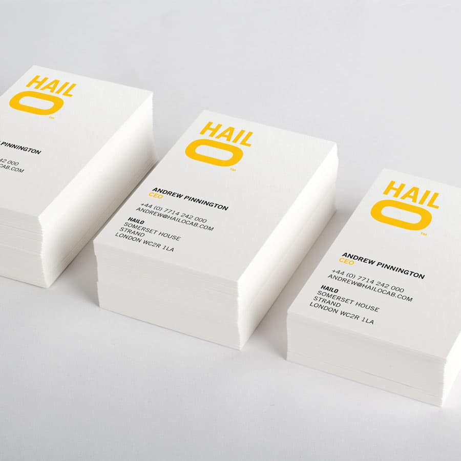 London Print Room Thick Business Cards 450gsm