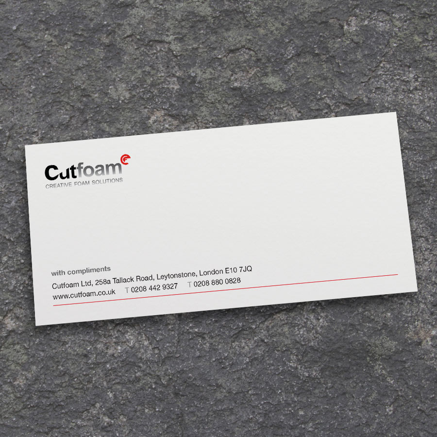 PERSONALISED COMPLIMENT SLIPS PRINTED ON 120GSM PAPER 250 COMPLIMENT SLIPS £17